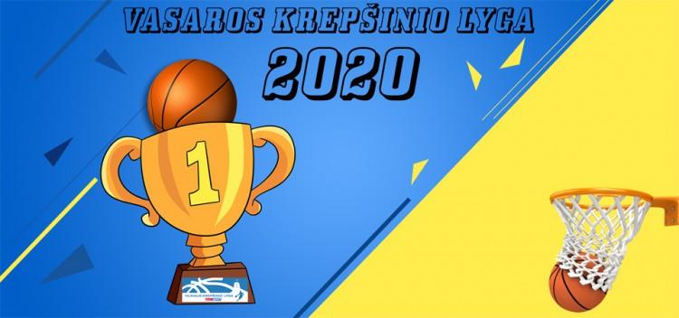 Krepšinis sugrįžta: VKL Vasaros Lyga 2020 - REGISTRACIJA !