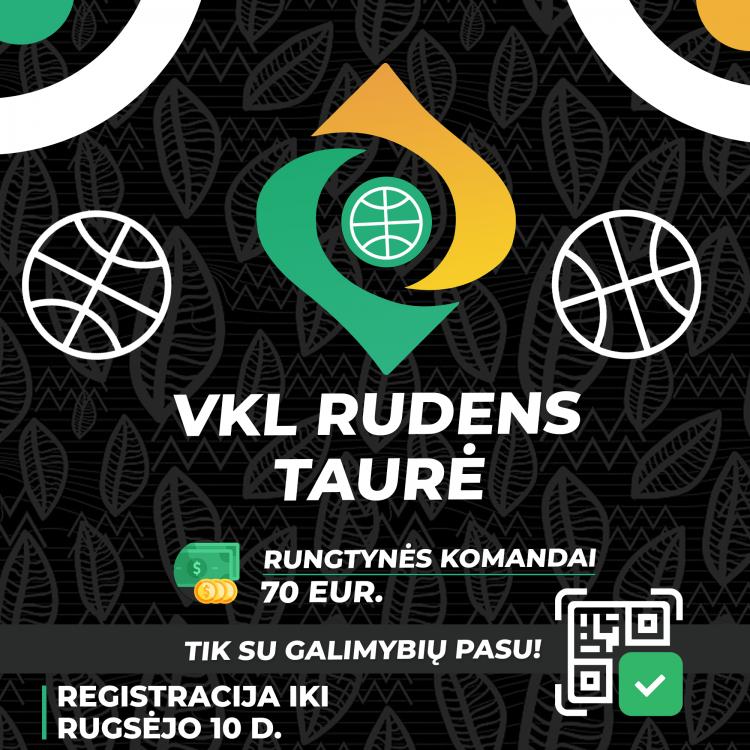 Priešsezoninė VKL RUDENS LYGA - Registracija iki Rugsėjo 10d. (gali būti stabdoma anksčiau laiko)