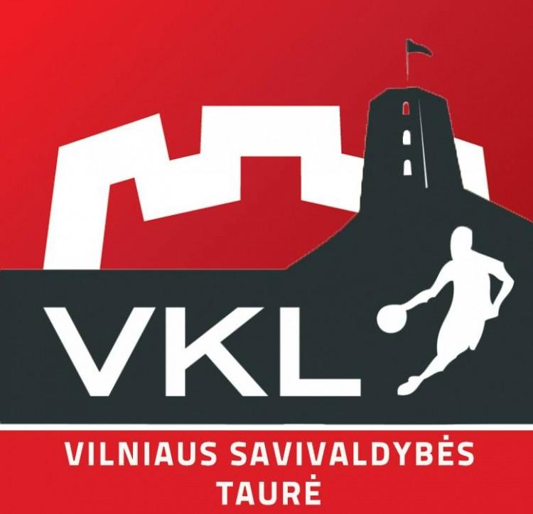 VKL - VILNIAUS MIESTO SAVIVALDYBĖS TAURĖ - 1/8 finalo etapo burtų REZULTATAI