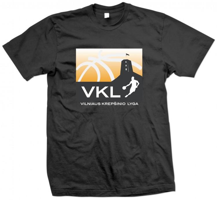 Visoms komandoms marškinėliai su VKL logotipu!