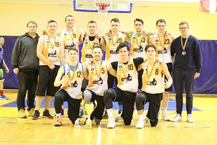 EABL: antrame čempionato namų ture Trakuose VKL komanda laimėjo bronzą !