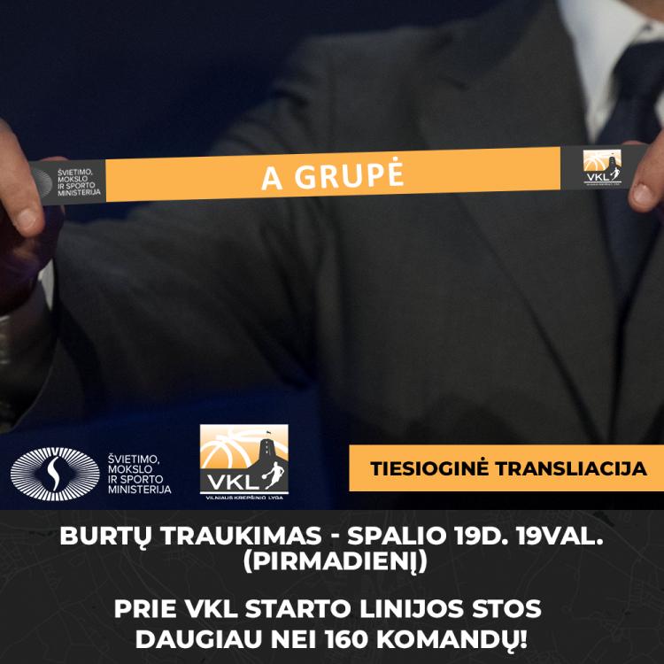 Naujojo sezono burtų traukimo VIDEO TRANSLIACIJA - Spalio 19d. (pirmadienį) 19:00val. !