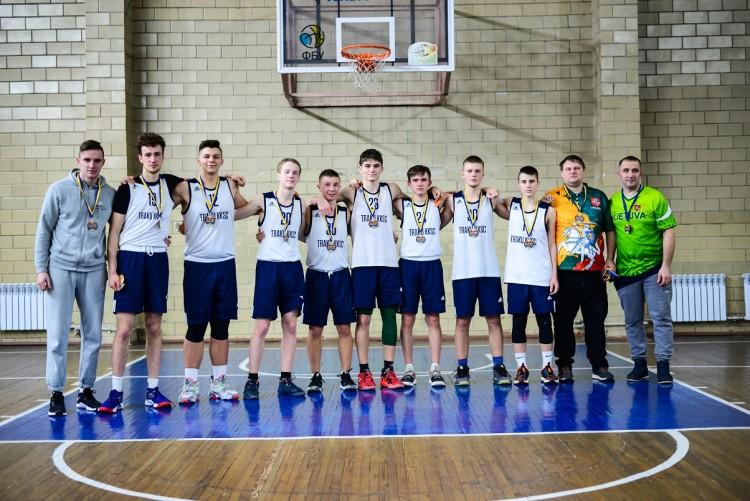 Krepšinis karantino metu - VKL turnyras Kijeve (Ukraina)
